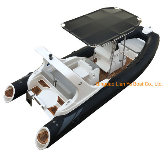 Liya 5.8m Rigid Hypalon Inflatable Boat with Motor