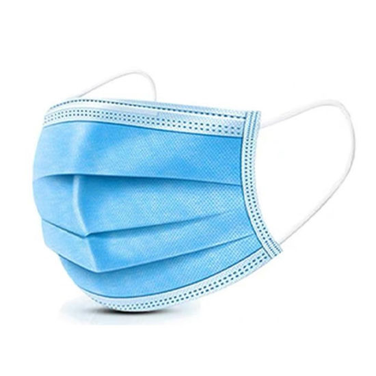High Quality Factory Price Filter Melt-Blown Fabric Protective Disposable Face Mask