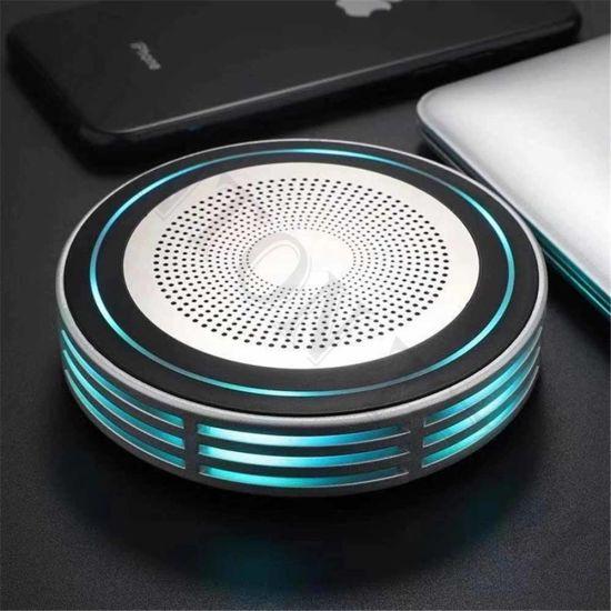 Kd-05 Low Price Colorful LED Light FM Radio Wireless Bluetooth Speaker