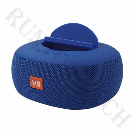 Lp-V8 AAA+ Fabric Wireless Super Bass Stereo Surround Subwoofer Speaker