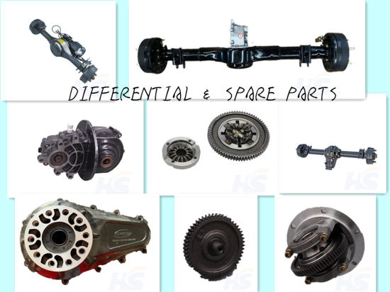Electric Tricycle 2020 Newest Axle Design for Pakistan----Rear Axle Kit