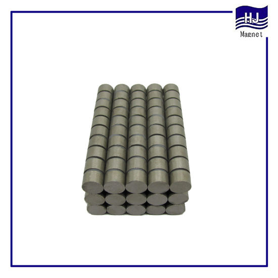 Strong Power Cylinder SmCo1: 5 2: 17 Wafer SmCo Permanent Magnet