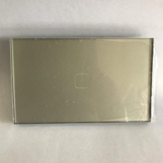 Home Appliance Us Standard Dimmer Wireless Touch Zigbee Wall Switch