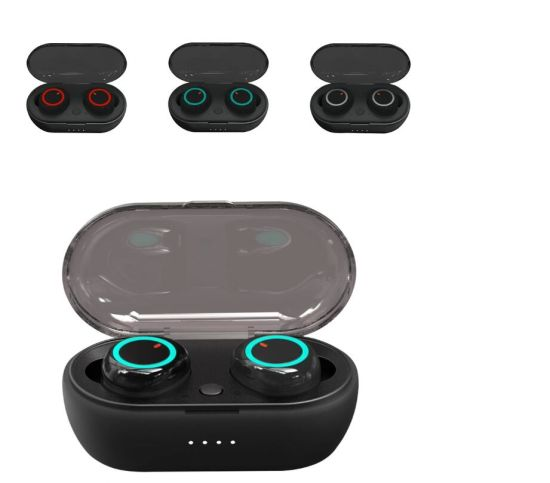 H12 Ipx7 Waterproof Tws 5.0 Bluetooths Earphones, Wireless Gaming Headsets
