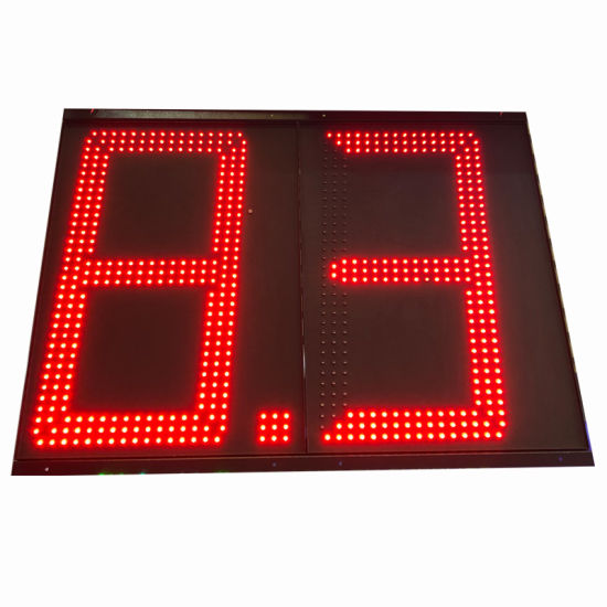 Outdoor LED Electronic Sign for Gas Price Advertising 24 Inch Red Color pictures & photos