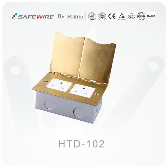 Open Cover Type Floor Socket/Power Socket/Electrical Swirch Socket