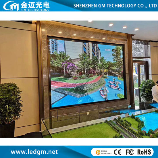 Indoor Full Color P4 LED HD Video Wall for TV and PC Input Advertising