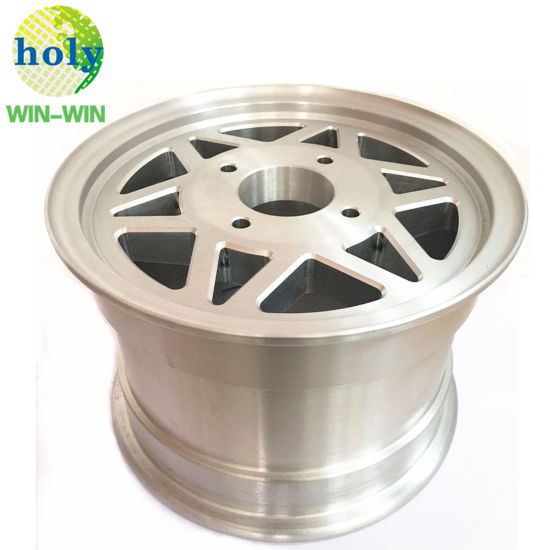 OEM Vehicle Use Aluminum Car Wheel with CNC Lathe Machining Part pictures & photos