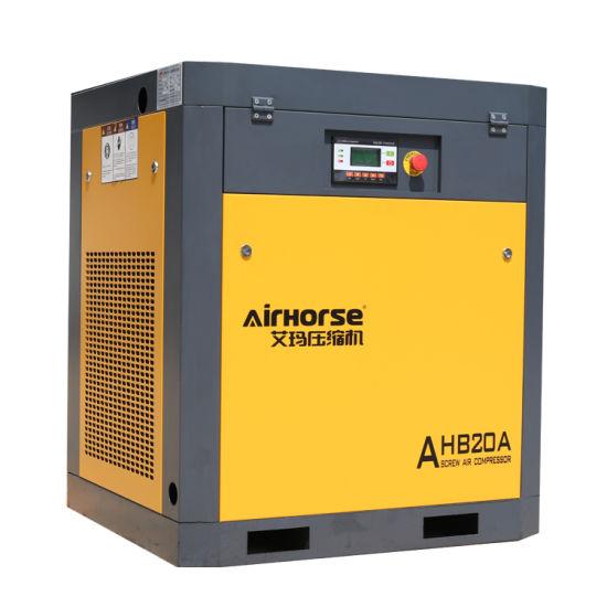 Screw Air Compressor 5.5kw, 7.5kw 15kw AC Power Wholesale Price
