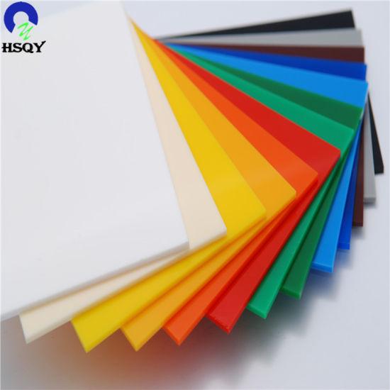 PMMA Plastic Acrylic Plexiglass Boards and Acryilc Sheet