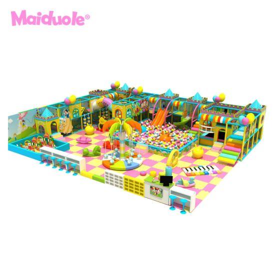 Free design Children Play Center Candy Theme Kids Indoor Playground Toddler Play