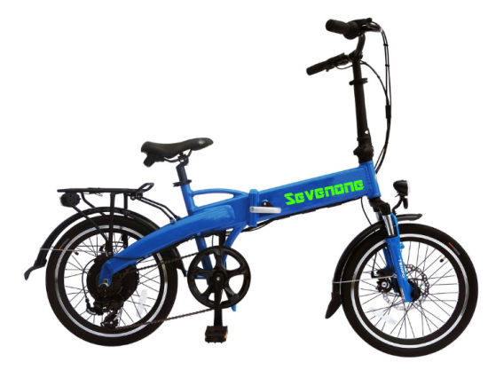Wholesale 20 Inch Foldable Lady City Mini Electric Bike with Rear Driven Motor