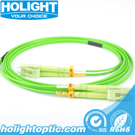 Fiber Optic LC to LC Om5 Jumper Cables pictures & photos