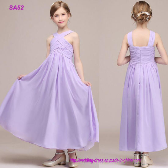 High-End Custom Made Flower Girl Dresses Wedding Party Dress 2019