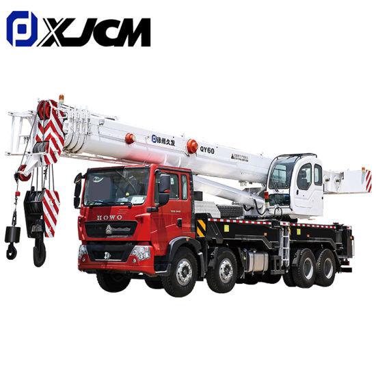 Construction 60 Ton Hydraulic Mobile Truck Crane for Sale