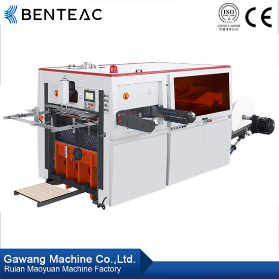 Auto High Speed High Quality High Precision Roll Feeding Paper Cup Die Cutting Machine with Ce