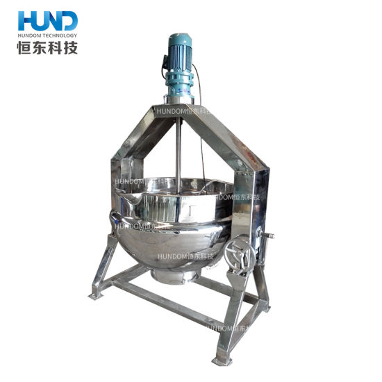 High Quality Industrial Tilting Heating Cooking Pot for Food pictures & photos