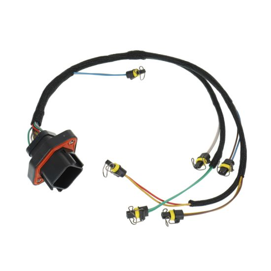 Fuel Distribution to The Combustion Chamber Injector Harness