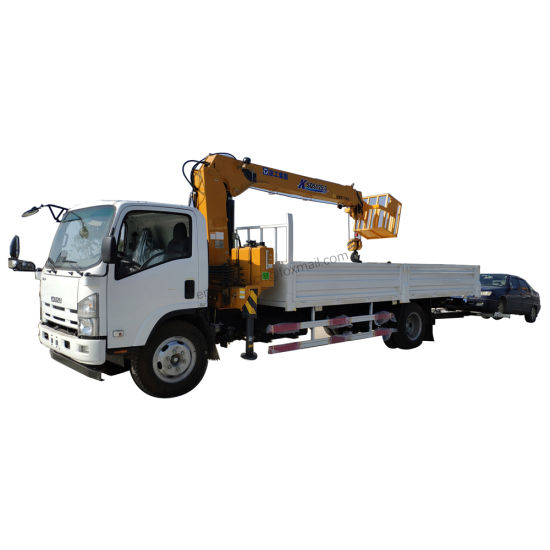 Japan Isuzu 700p 6.3tons 5tons X C M G Truck Crane pictures & photos