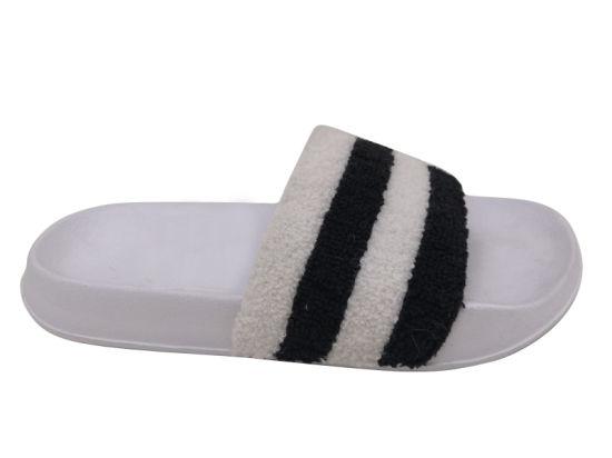 Women Slides Striped Slipper