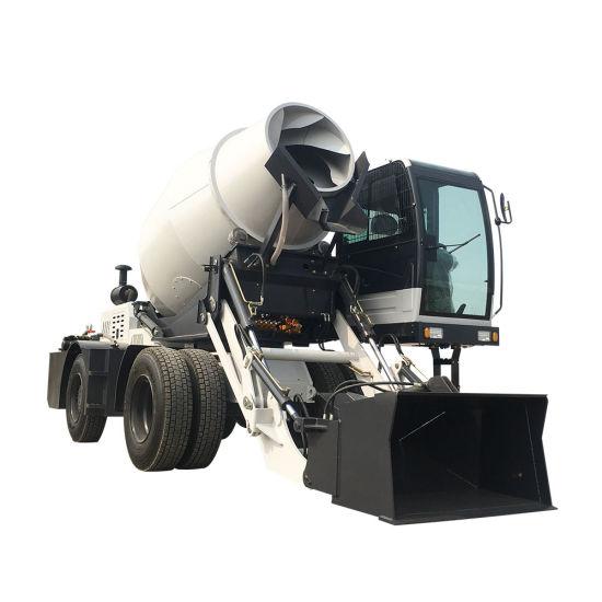 Pan Type Horizontal Portable Mobile Diesel Cement Concrete Mixer Machinery Discount