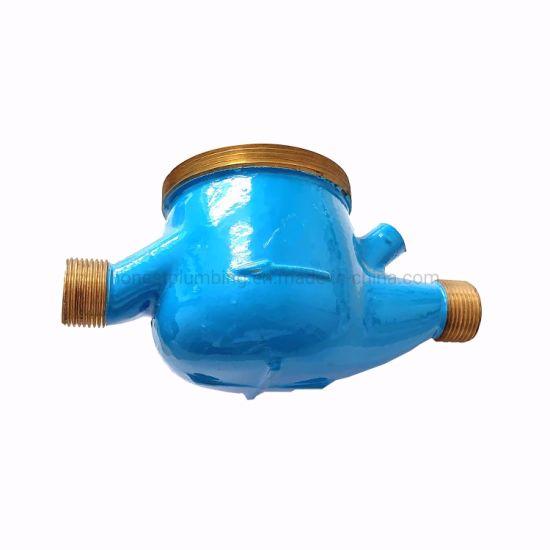 15mm-50mm Multi Jet Brass Casting Water Meter Body