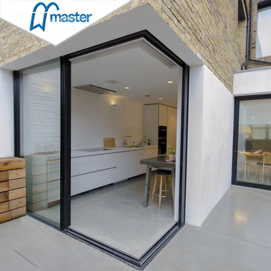 China Custom Glass Pocket Doors Lowes Sliding Slide Door In The Wall Safety Fibre Sliding Door For Kitchen Entrance China Pocket Aluminum Door Sliding Glass Door