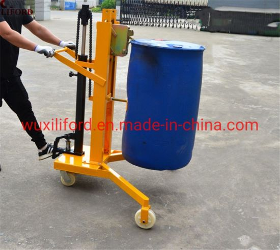 Dtf450b-1 Drum Hydraulic Truck Lifter with Weight Scale 450kg Capacity