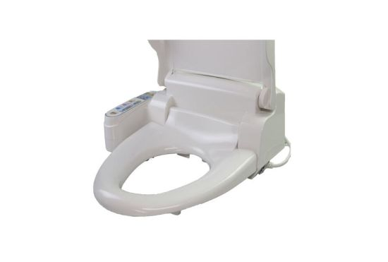 China Automatic Electric Toilet Water Bidet Spray Heated Battery Operated Toilet  Seat - China Automatic Electric Toilet Seat, OEM Customized Brand Smart Toilet  Seat Bidet