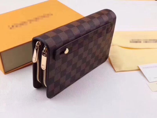Genuine Leather Men′s Wallet Luxury Men′s Clutch Bag pictures & photos