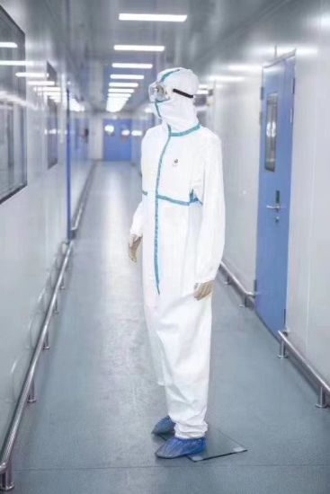 Medical First Class Protective Clothing, Disposable Medical One-Piece Isolation Clothing, Factory Direct Sales, Spot Goods