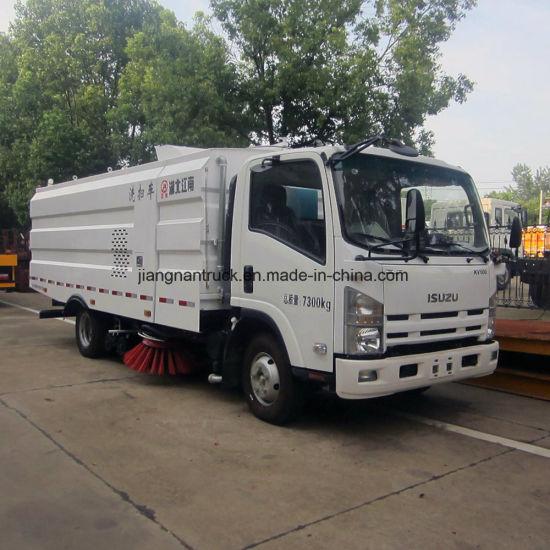 Isuzu Road Sweeper Vehicle Street Sweeper Truck