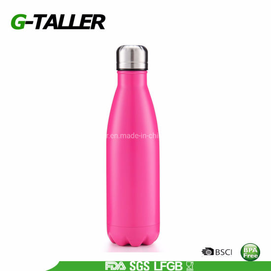 Leak-Proof Double Walled Cola Shape Thermo Flask Vacuum Bottle