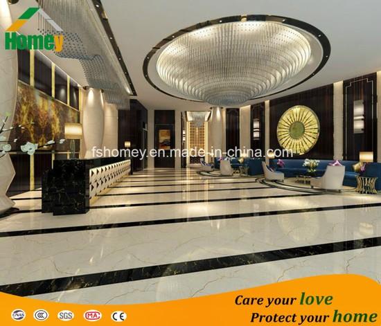Polished Porcelain Marble Look Glazed Floor Tile with Ce Certification