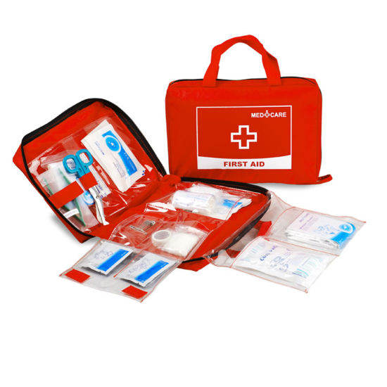 Outdoor Easy Carry Waterproof Emergency First Aid Kits Bags with Handle