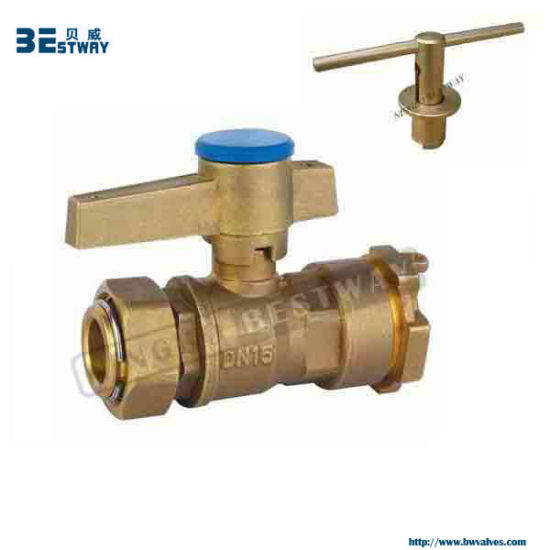 High Quality Water Meter Lockable Ball Valve