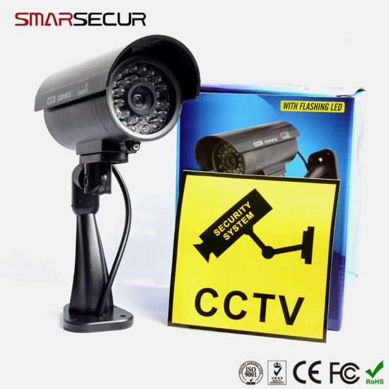 Smarsecur Dummy Fake CCTV Surveillance Camera Shop