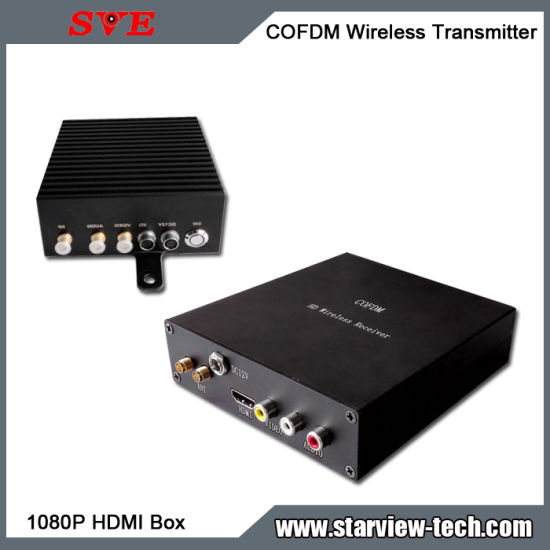 HD Cofdm Nlos HDMI Wireless Video Portable Transmitter