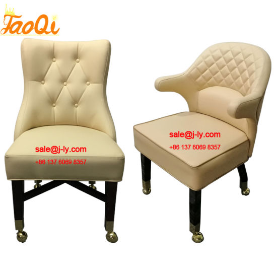 New Design Casino Chair Slot Gaming Bar Chair Table Chair Casino Stool K953 & K1026