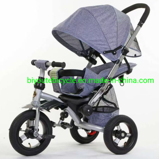 Kids Push Tricycle Wholesale Cheap Price / Children Tricycle with Trailer
