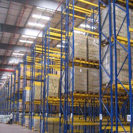 Adjustable Selective Heavy Duty Warehouse Pallet Rack