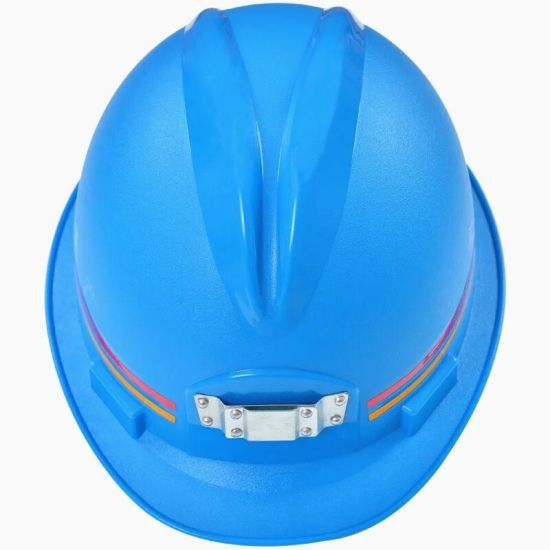 ABS Safety Helmet with LED Flashing Light