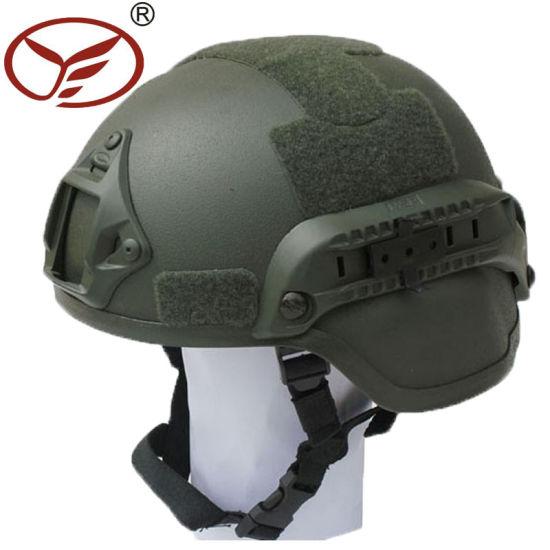Green Nij 3A Mich 2000 Bullet Proof Helmet Military