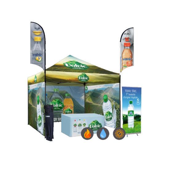 10X10 Waterproof Custom Printed Aluminum Profile Trade Show Tent
