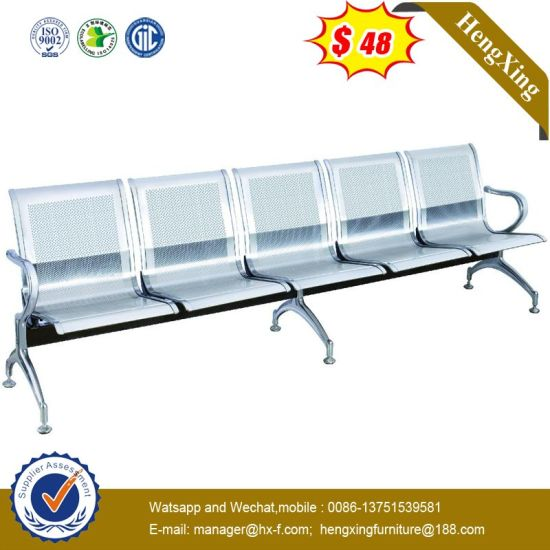 High Quality 5 Seats Airport Waiting Metal Steel Chair