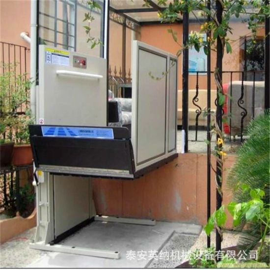 High Quality Hydraulic Patient Wheelchair Lift Platform for Home