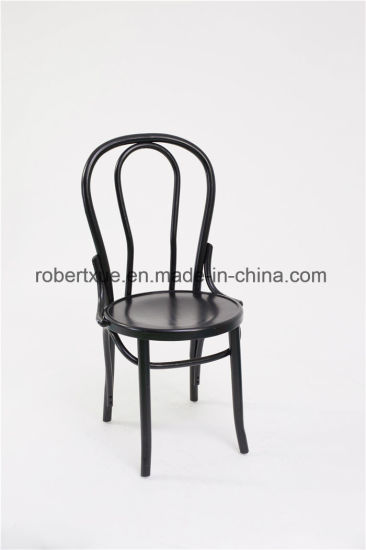 Factory Price Wood Thonet Chair, Stackable Bentwood Chair