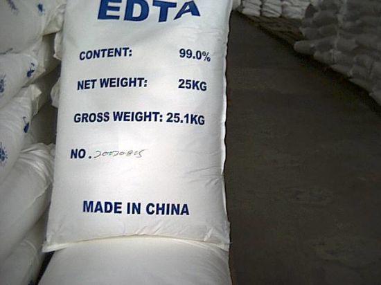 Ethylene Diamiine Tetra Acetic Acid (EDTA)