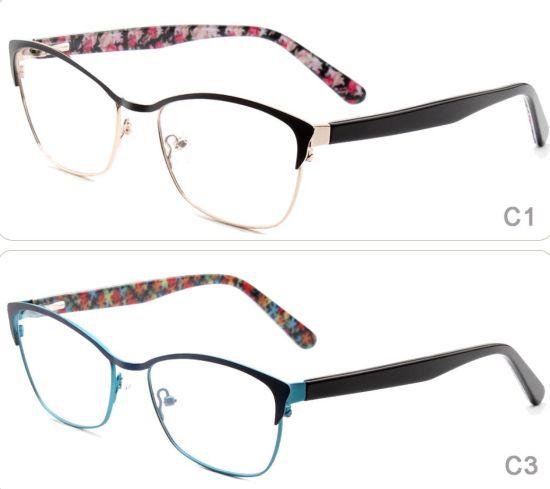 6f6896706f0 2018 Online Ready Stock Top Selling New Model Colorful Flexible Popular Stainless  Steel Metal Eyewear Optical Eyeglasses Frames Glasses for Women
