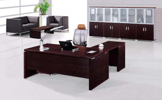 China Supplier OEM Office Furniture Executive Wooden Office Table Design